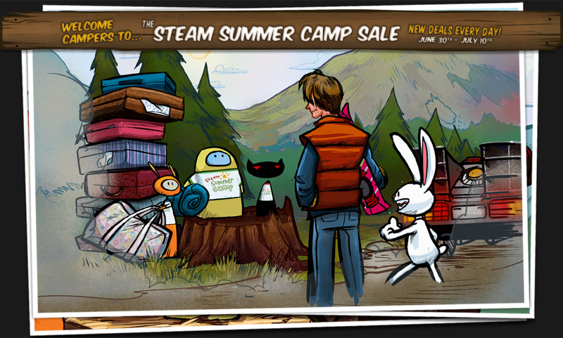 Steam Summer Sale 2011 Spotlight Image